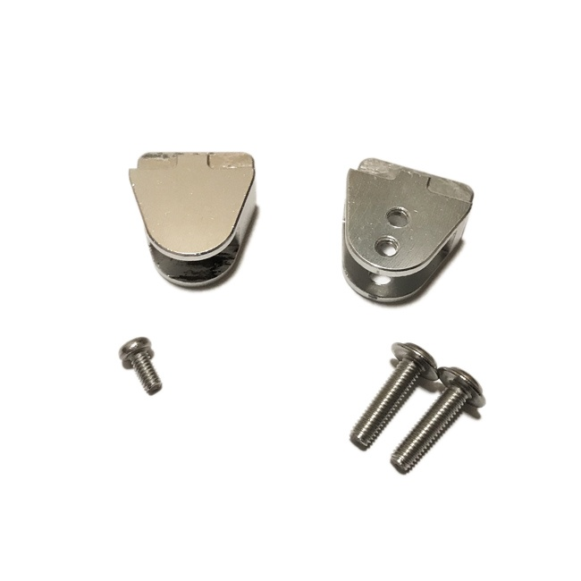 Blattfederhalter Set Metall (4 Halter)