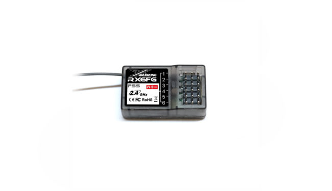 AMX Racing Empfänger RX6FG 6-Kanal 2,4GHz mit FSS