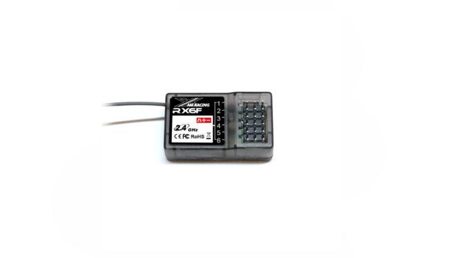 AMX Racing  Empfänger RX6F 6-Kanal 2,4GHz