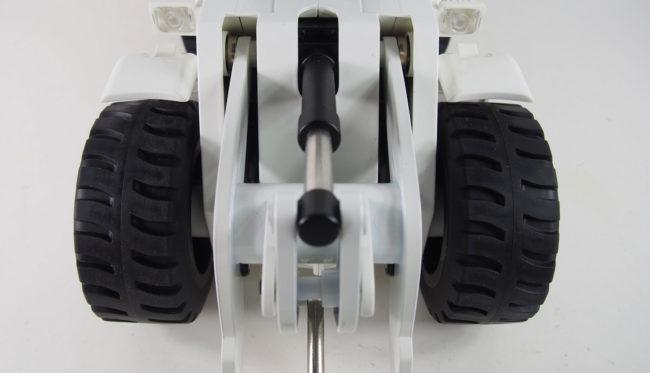 Radlader V3 1:14, RTR 10-Kanal Sound, Licht, Teilmetall, weiß