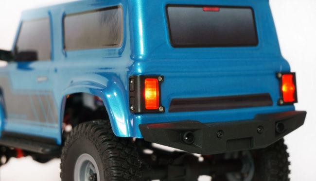 AMXRock AM18 Scale Crawler Geländewagen 1:18 RTR blau