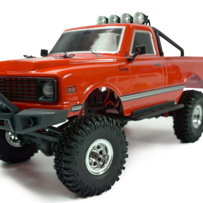 AMXRock AM18 Scale Crawler Pick-Up 1:18 RTR rot