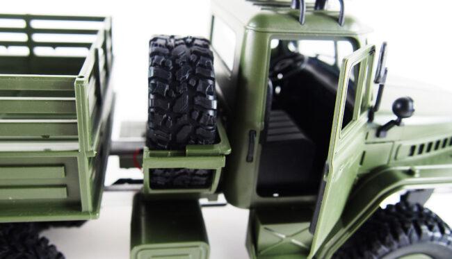 URAL TRUCK 6WD 1:16 RTR 2,4GHZ